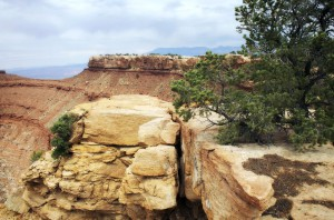 Gooseberry Mesa overlook